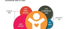 4 in 5 (80%) Pakistanis consider their overall quality of life to be good